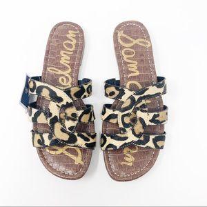 Sam Edelman Leopard Print Bryna Sandals